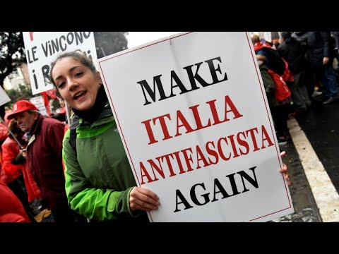 Italy: Thousands march in rival far-right, anti-fascist protests