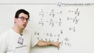 Soustava nelineárních rovnic 3