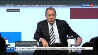 Сергей Лавров: Россия контактирует со всеми, пока ООН буксует