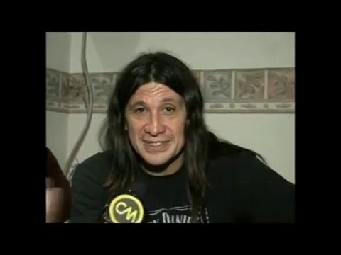 Germán Burgos video Entrevista CM Rock - 2008