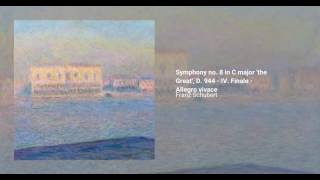 Symphony no. 8 in C major 'the Great', D. 944