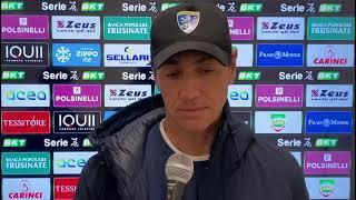 intervista a Nesta dopo Frosinone-Lecce