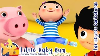 Hop, Saltar y Saltar | Canciones y Juegos Para Niños | Little Baby Bum