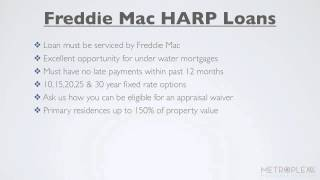 How To Qualify for a Freddie Mac HARP Loan?