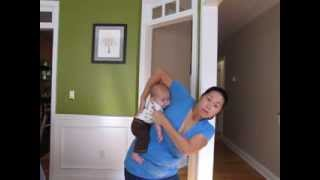 Getting Baby Onto Your Back: Hip Scoot