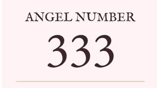 333 meaning angel number - TH-Clip