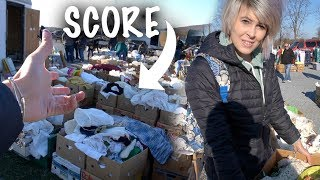 SCORE! LOADS Of Antiques For Cheap | Flea Market Shop With Us | Reselling