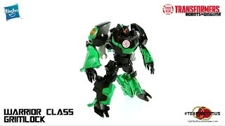 Video Review of the 2015 Transformers Robots in Disguise: Warrior Class Grimlock