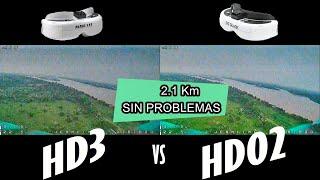 FatShark HDO2 vs HD3