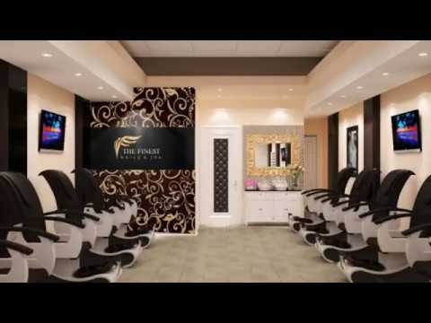 nails salon interior design ideas 3d design ifoss team - Nail Salon Interior Design Ideas