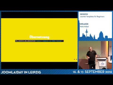 Joomla! Templates for Beginners
