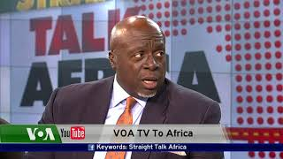 STRAIGHT TALK AFRICA US AMB. TO ZIMBABWE HARRY K. THOMAS JR.