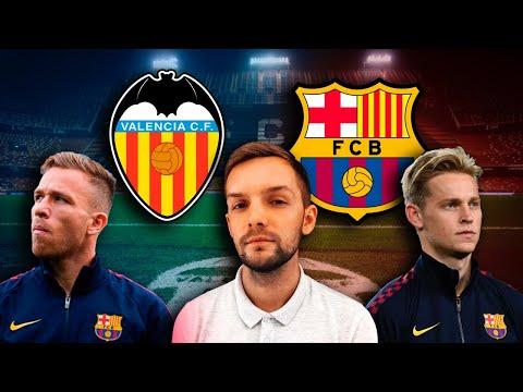 Валенсия - Барселона | Испытание выездом для Кике Сетьена | Стрим перед