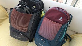 Mochila Deuter Transalpine Pro 28L e 26L SL Backpack - Apresentação