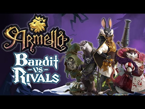 Armello - Bandit vs. Rivals! (4-Player PC Gameplay)