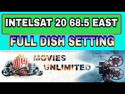New Channel list Intelsat 20@68 5 East C Band satellite Free