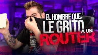 EL HOMBRE QUE LE GRITÓ A UN ROUTER (Broma Telefónica)
