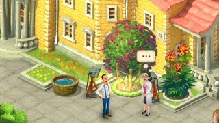 GARDENSCAPES NEW ACRES Gameplay Story Playthrough | Area 3 Maze Day 2 and Day 3