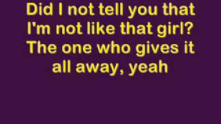 Don't Tell Me - Avril Lavigne [lyrics]