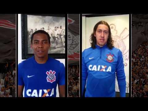 Elias e Cássio convocam o torcedor para amistoso de domingo