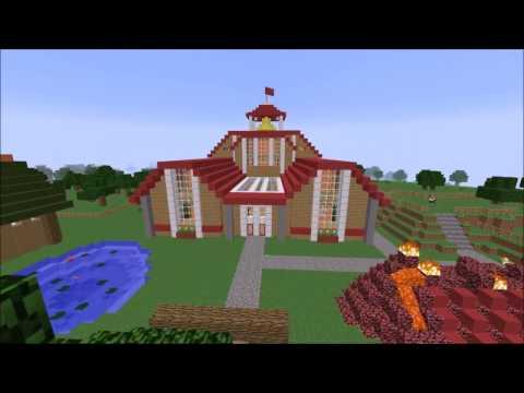 Pixelmon world Alpha mapp Minecraft Project