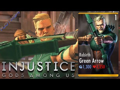 Injustice: Gods Among Us | REBIRTH GREEN ARROW - Super Attacks |