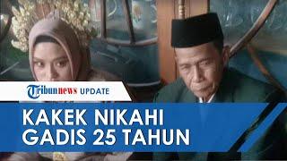 Viral di Medsos Kakek 73 Tahun Nikahi Gadis 25 Tahun di Bone, Sudah 4 Kali Cerai
