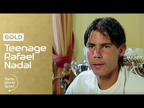 16-year-old Rafael Nadal on Trans World Sport