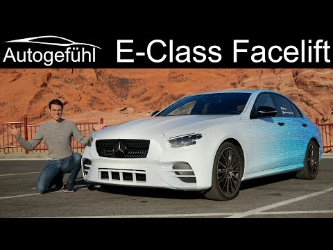 New Mercedes E-Class Facelift first PREVIEW with all 2020 changes explained - Autogefühl