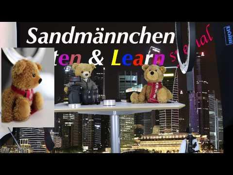 Listen & Learn mit Teddy. Heute: Fotostudio