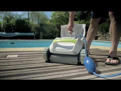Dolphin T15 - robot de nettoyage électrique pour piscine | Test et avis  Cabesto