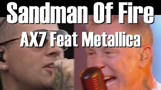 Sandman Of Fire -  (Avenged Sevenfold + Metallica Mash up)