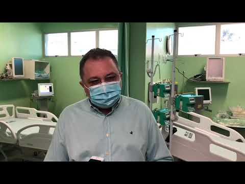 Sesapi entrega 10 leitos de UTI no setor Covid do Hospital da Polícia Militar