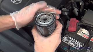 Oil Change and Filter Replacement Toyota