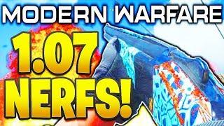 NEW MODERN WARFARE UPDATES! 1.07 PATCH SHOTGUN NERFS + MORE TUNING COMING SOON! COD Modern Warfare!