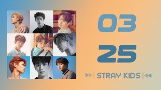 [SUB INDO] 0325   STRAY KIDS [COLOR CODED LYRIC]