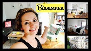 MY PARIS APARTMENT TOUR 2017 & How Much Rent I Pay|Minimalist apartment Paris (French subtitles)