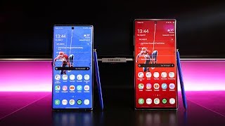 Samsung Galaxy Note10 vs Samsung Galaxy Note10+ - When Size Matters?