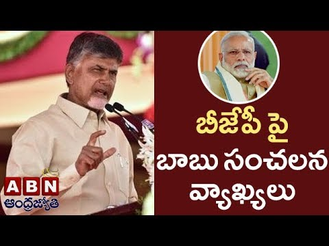 CM Chandrababu Naidu Serious Comments on BJP Govt