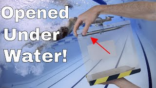What Happens if You Open a Vacuum Chamber Under Water? And Do Vacuums Float?