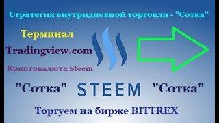 """Steem и Doge - стратегия торговли криптовалютой на бирже Bittrex(""""Сотка"""")"""