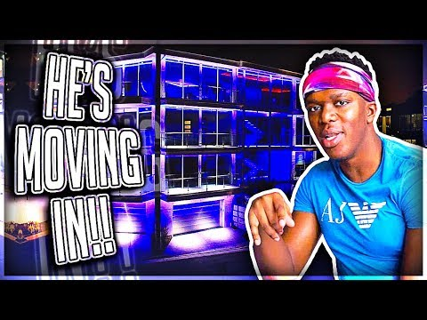 MY NEW ROOMMATE KSI ???