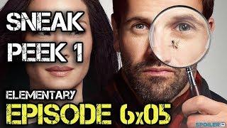 """Sneak peek 1 6.05 """"Elementary"""" - CBS"""