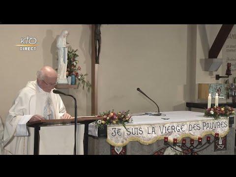 Messe au sanctuaire de la Vierge des pauvres à Banneux Notre-Dame