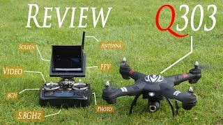 WLToys Q303-A Ready-to-Fly FPV RC Drone With Camera - RCLifeOn