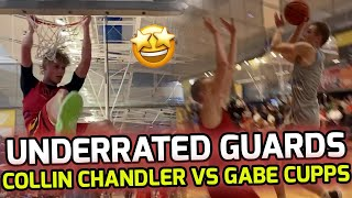 How Is Gabe Cupps NOT RANKED!? Matches up Against FLASHY Guard Collin Chandler! 🔥