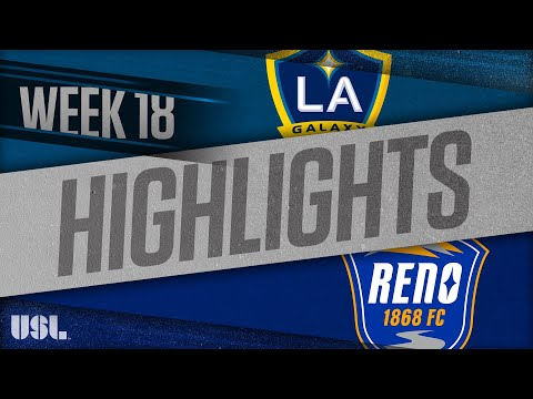 LA Galaxy 2 - Рено 1:4. Видеообзор матча 12.07.2018. Видео голов и опасных моментов игры