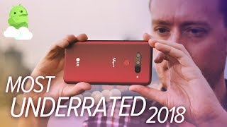 The Most UNDERRATED Android Phone of 2018 [LG V40 ThinQ Review]