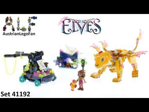 Vidéo LEGO Elves 41192 : Azari et la capture du lion de feu