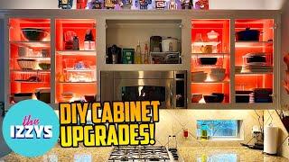 DIY Affordable Cabinet Upgrades: COMPLETE!